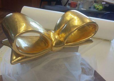 Nika Zupanc - pozlata keramične pentlje