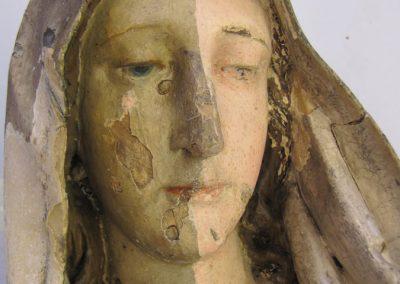 Obnova Marijinega kipa