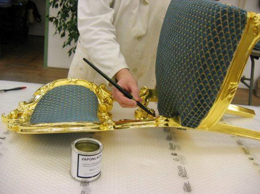 Pozlata stola