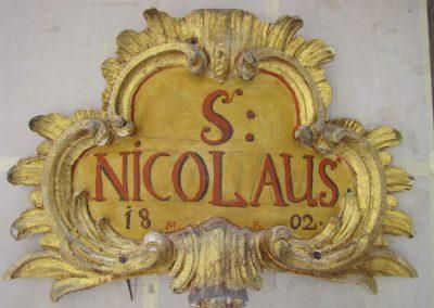 Obnova glavnega oltarja sv. Nikolaja iz p.c. v Dvoru pri Polhovem Gradcu