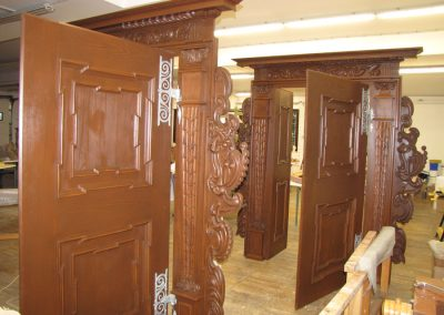 Kopija renesančnih grajskih vrat iz gradu Negova