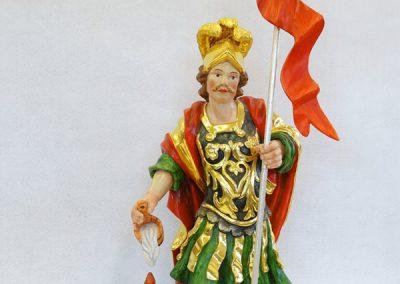 Kip sv. Florijana-les, ročno zrezbarjen