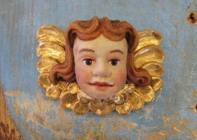 Angelska glavica-umetna masa