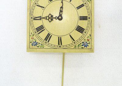 Stenska ura-ročna poslikava na les