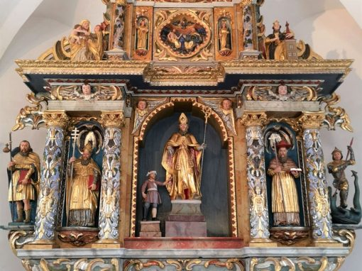 Obnova glavnega oltarja v p. c. sv. Martina v Zalogu pri Prečni